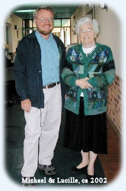 Lucille & Michael at Nursing Home (2002)